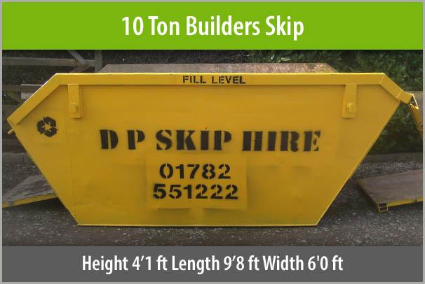 10 Ton Builders Skip