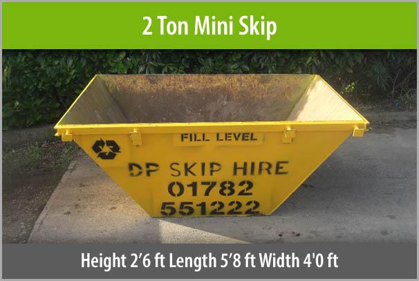 2 Ton Mini Skip