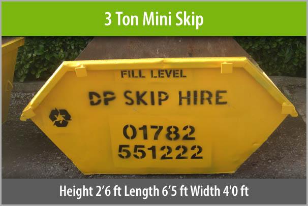 3 Ton Mini Skip