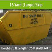 16 yard skip - Staffordshire Skip Hire
