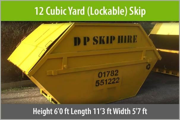 12-Cubic-Yard-skip-staffordshire