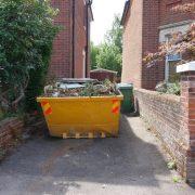 skip hire - garden clearance
