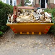 skip hire - lockdown DIY