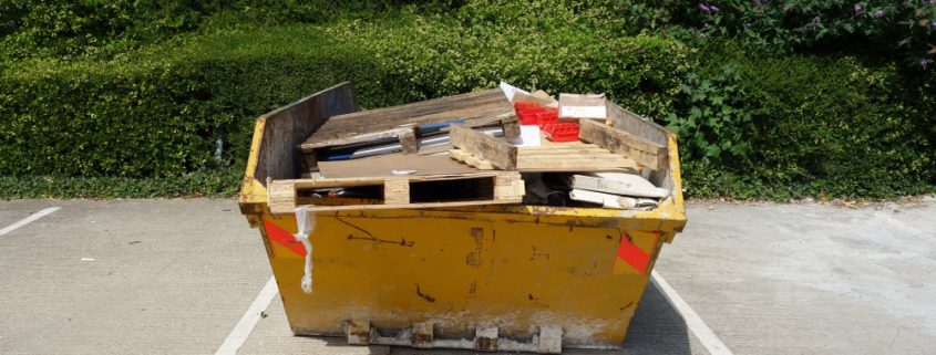 skip hire - office clearance